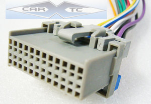 pontiac aztek 03 2003 factory car stereo wiring installation harness oem radio install wire
