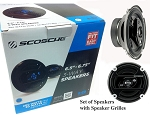 6.5 Inch Car Speaker 3way (400watts per pair) HD-65