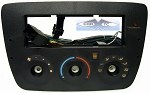 Ford Taurus (w/ Rotary Climate Controls) 2006 Single Din Radio Faceplate Dash Install Stereo Kit (Airbag)