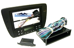 Ford Taurus (w/ Electronic Climate Controls) 2007 Single/Double Din Radio Faceplate Dash Install Stereo Kit