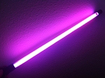 24 Inch HOT PINK NEON car light Rod - Glow N Street