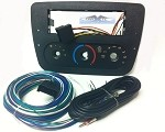 Mercury Sable (w/Rotary Climate Controls) 2002 Single Din Radio Faceplate Dash Install Stereo Kit