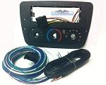 Ford Taurus (w/ Rotary Climate Controls) 2001 Single Din Radio Faceplate Dash Install Stereo Kit