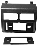 GMC Pickup Sierra (Fullsize) 1988 Single Din Radio Faceplate Dash Install Stereo Black Kit