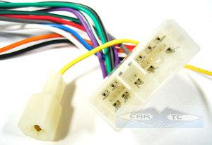subaru loyale wagon 90 1990 car stereo wiring installation harness - radio  install wire  carxtc