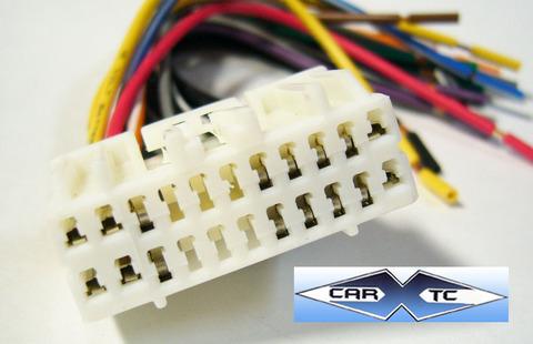 chrysler 300c w/ nav 07 2007 factory car stereo wiring installation harness  oem radio install wire  carxtc