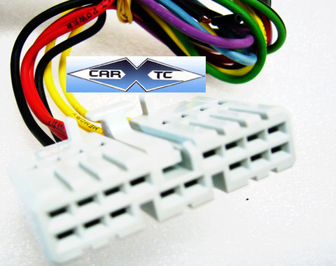 honda accord 87 1987 factory car stereo wiring installation harness oem radio  install wire