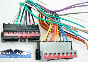 ford probe 89 1989 factory car stereo wiring installation harness rh carxtc com ford probe radio wiring diagram 94 ford probe stereo wiring diagram
