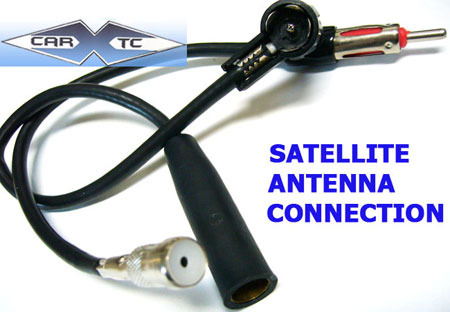 Mercedes 300SEL 91 1991 Antenna Adapters for Wired FM Modulators (install XM Sirius iPod DVD CD changers)