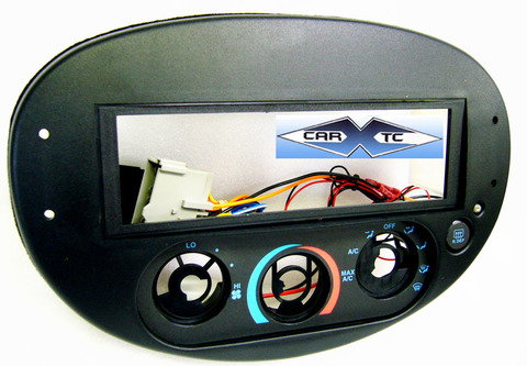 Ford ZX-2 1997 Single Din Radio Faceplate Dash Install Stereo Kit