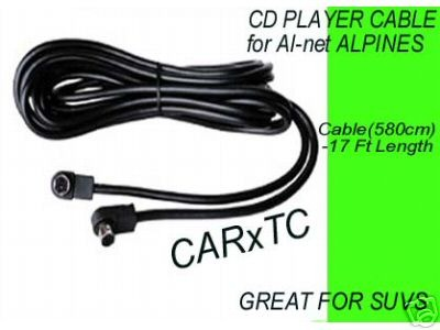 CD CHANGER CABLES for ALPINE STEREOS AI-NET