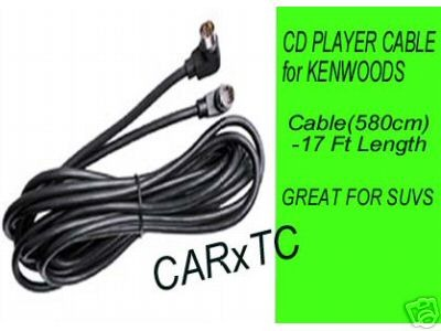 CD CHANGER CABLES for KENWOOD STEREOS 17FT