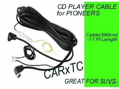 CD CHANGER CABLES for PIONEER STEREOS 17FT