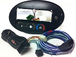 Ford Taurus (w/ Rotary Climate Controls) 1999 Single Din Radio Faceplate Dash Install Stereo Kit