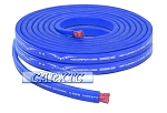 4 Gauge Flat Power Ground Cable - 10ft Blue: OFC Copper 1666 Strand Count