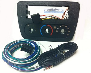 Ford Taurus (w/ Rotary Climate Controls) 2000 Single Din Radio Faceplate Dash Install Stereo Kit