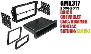 Dash Stereo Install Kit American International GM-K317