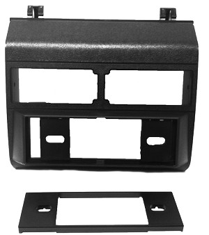 GMC Pickup Sierra (Fullsize) 1994 Single Din Radio Faceplate Dash Install Stereo Black Kit