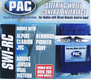 Steering Wheel Control Retains Volume Function w/ Aftermarket Radio SWI-RC
