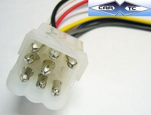 Volvo 740 89 1989 Car Stereo Wiring installation Harness - Radio install  wire | Volvo 740 Stereo Wiring |  | CarXtc