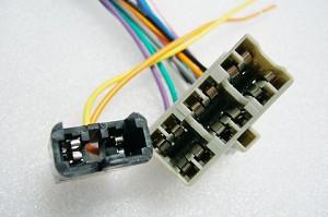 Pontiac FIERO 84 1984 FACTORY Car Stereo Wiring installation Harness OEM  Radio install wireCarXtc