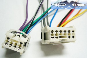 infiniti q45 94 1994 factory car stereo wiring installation harness oem  radio install wire  carxtc